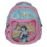 Wise Guys Princess Embossed 3D Print School Bag For Kids - Light Pink 1