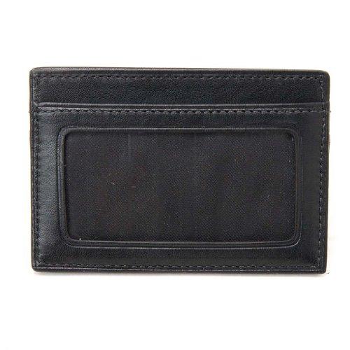 (トゥミ)TUMI 018659D Delta SLG Slim Card Case ID/スリム カードケース ID Black/ブラック [並行輸入品]