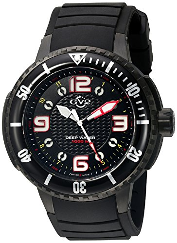 GV2-by-Gevril-Mens-8900-Termoclino-Analog-Display-Quartz-Black-Watch