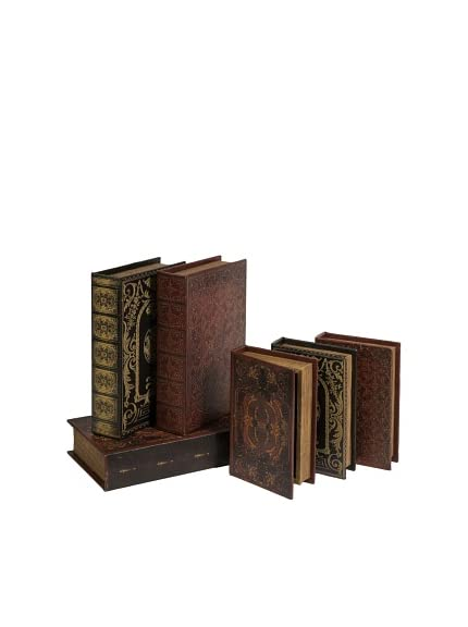 IMAX Set of 6 Monte Cassino Book Box Collection