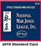 National Mah Jongg League Scorecard 2015