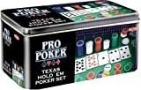 Pro Poker Texas Hold'em Set - Tin