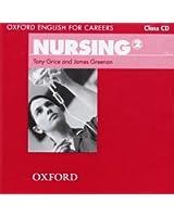 Oxford English for Careers: Nursing 2: Class Audio CD