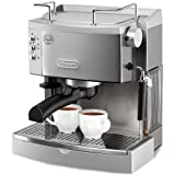 DeLonghi EC702 15-Bar-Pump Espresso Maker, Stainless