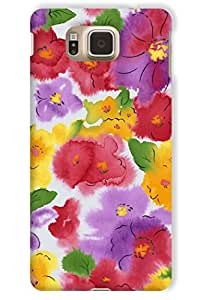 IndiaRangDe Case For Samsung Galaxy Alpha G850 Printed Back Cover