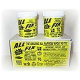 All-Fix 2 Part Epoxy Putty 3/4 Lb. Kit All Purpose 1001 Uses ~ Cir-Cut Corporation