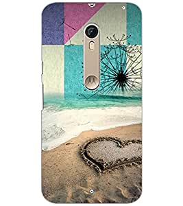 PrintDhaba HEART PATTERN D-6474 Back Case Cover for MOTOROLA MOTO X PURE EDITION (Multi-Coloured)