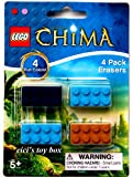 Lego Legends of Chima Brick Erasers 4 Pack