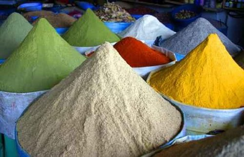 Color of spices - 48