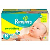 Pampers Swaddlers Diapers- Newborn, 88 ct.