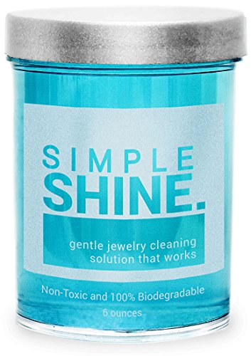 Gentle Jewelry Cleaner Solution | Gold, Silver, Fine & Fashion Jewelry Cleaning | Ammonia Free Clean (Platinum Cleaner compare prices)