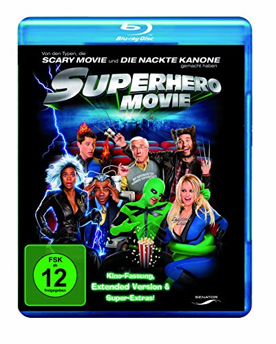 Superhero Movie (Extended Cut) [Blu-ray]