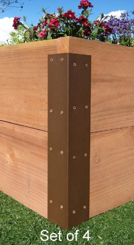 Raised Garden Bed Corner Brackets (Standard) - For 20