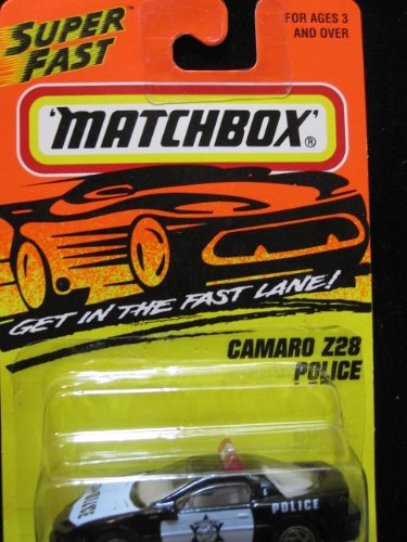 Camaro Z28 Police car Matchbox Super Fast Series #59