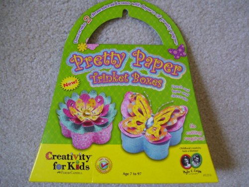 Pretty Paper Trinket Boxes