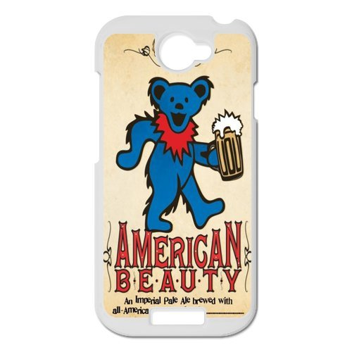 Generic Cell Phones Cover For Htc One S Case Customize Music Band Grateful Dead And Dancing Bears Hard Snap On Phone Cases front-225059