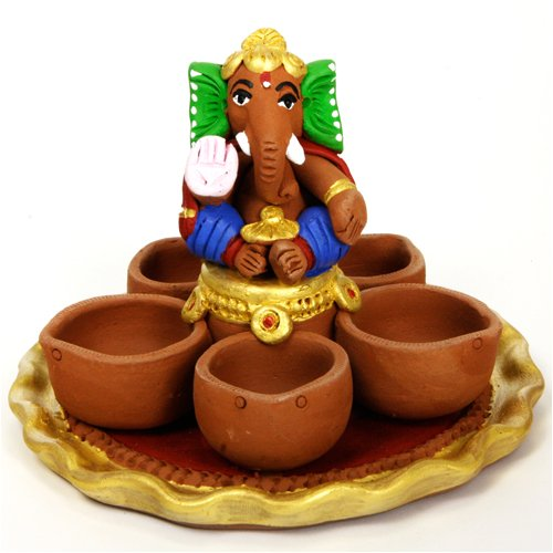 Ganesha with Diya Holder