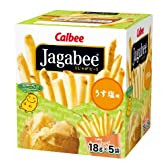 カルビー Jagabee(ジャガビー) うすしお味 90g×12個