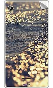 GsmKart IAPH Mobile Skin for Intex Aqua Power Hd (Golden, Aqua Power Hd-920)