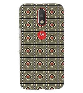 Printdhaba Pattern D-5217 Back Case Cover For Motorola Moto G4 Plus