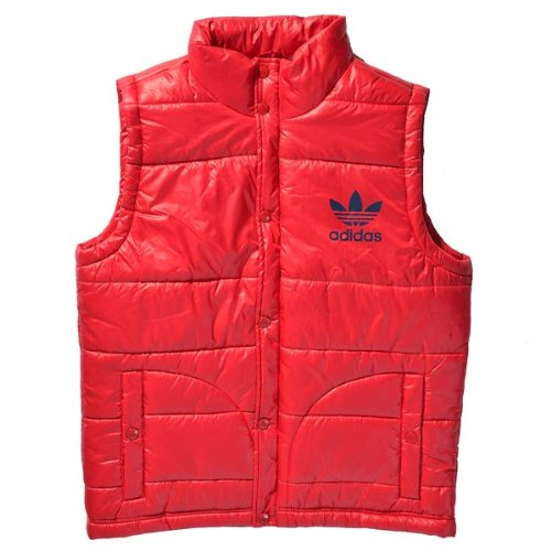 adidas Herren Weste AC Padded, university red, L, X51846