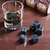 Teroforma Set of 9 Black Whiskey Stones HW1S02