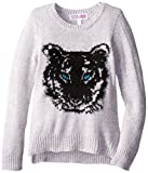 Derek Heart Big Girls' Pullover Sweater with Tiger