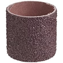 "3M  Cloth Band 341D, 1-1/2"" Diameter x 1-1/2"" Width, 36 Grit, Brown (Pack of 100)"