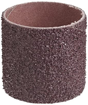 """3M  Cloth Band 341D, 1-1/2"""" Diameter x 1-1/2"""" Width, 36 Grit, Brown (Pack of 100)"""