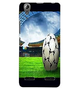 ColourCraft Football Design Back Case Cover for LENOVO A6000