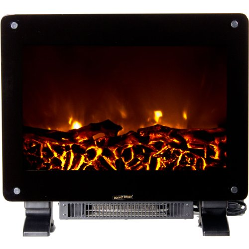 Frigidaire DSF-10302 Dallas Floor Standing Electric Fireplace - Black image