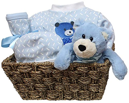 Raindrops Welcome Home 5 Piece Gift Set, Blue, 3-6 Months - 1