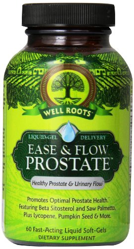 Well Roots Ease And Flow Prostate Supplement, 60 Count