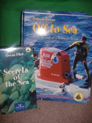 Off to Sea: An Inside Look at a Research Cruise  (Turnstone Ocean Pilot Book), DEBORAH KOVACS