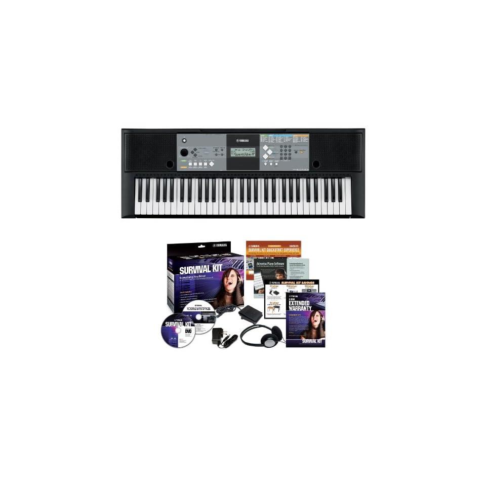 Yamaha PSR E233 61 key Portable Keyboard Outfit