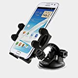ZiLu® Universal Phone Car Mount Holder Cradle, Air Vent for iPhone 6 (4.7)/ Plus (5.5)/ 5s/ 5c/, Samsung Galaxy S6/S6 Edge/ S5/S4/ S3/ Note 4/3, Google Nexus 5/4, LG G3 and other Smartphones