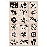 Hero Arts Ink and Stamp Set, Floral (Color: Floral)