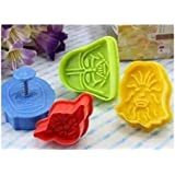 SMO Star Wars Cookie Cutters Plätzchenformen Keks Ausstechformen - Multicoloured
