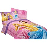 Disney Princesses Sparkling Elegance Sheet Set, Full