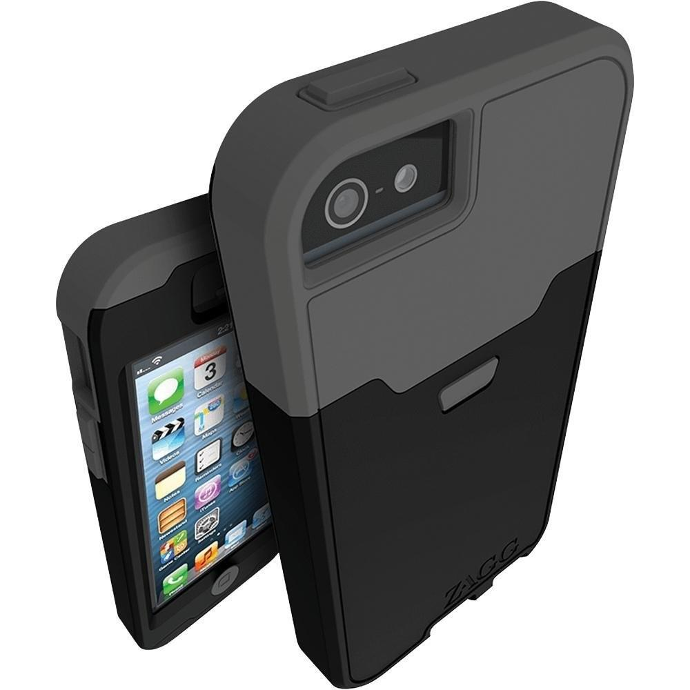 Amazon.com: ZAGG Arsenal Case for iPhone 5 with iS Extreme - Sapphire ...