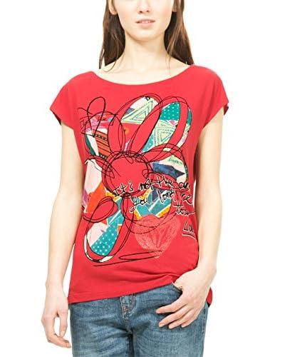 Desigual Camiseta Manga Corta Cristina Negro