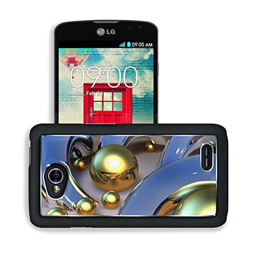 Golden Round Orbs Silver Design Lg Optimus L70 Dual D325 Snap Cover Premium Aluminium Design Back Plate Case Open Ports Customized Made To Order Support Ready 5 2/16 Inch (130Mm) X 2 12/16 Inch (70Mm) X 11/16 Inch (17Mm) Msd L70 Professional Cases Accesso