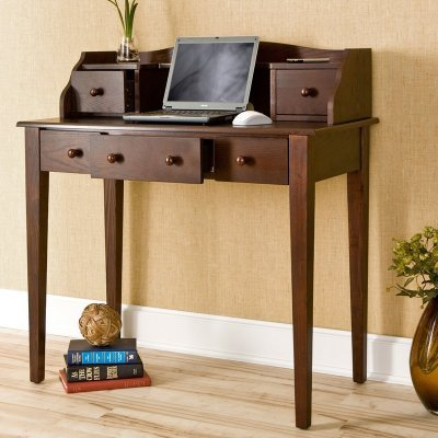 Buy Low Price Comfortable Southern Enterprises Multi Use Computer/Writing Desk – HO9238 (B004FJVZZQ)