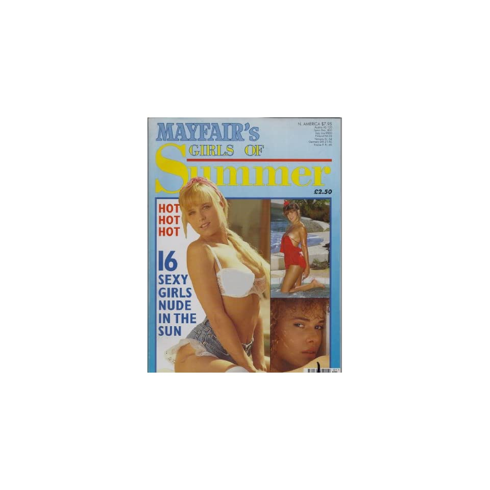MAYFAIR GIRLS OF SUMMER #5 MAYFAIR MAGAZINE. PAUL RAYMOND