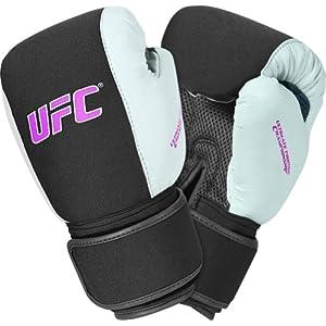 GF UFC Women's Cardio Mesh Boxing Gloves - Grey/Pink/White