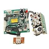 Universal USB 7 RCA S-video Port MPEG Card Mini DVD Decoder Board discount