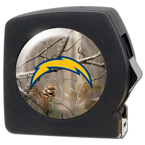 Nfl San Diego Chargers Open Field 25' Tape Measure front-35907