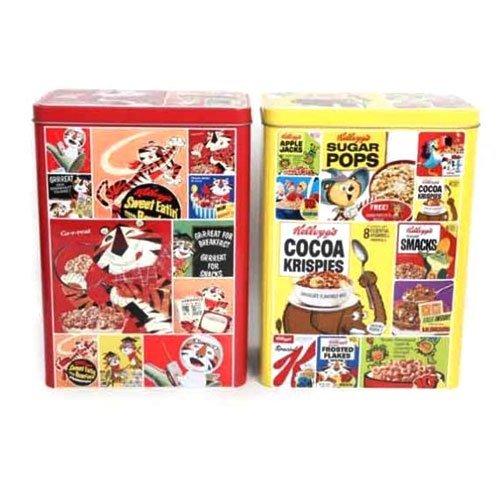 set-of-2-vintage-kelloggs-cereal-tin-rice-krispies-corn-flakes-designs