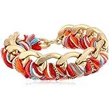 Sam Edelman Braided Chain Bracelet