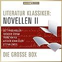 Literatur Klassiker: Novellen II Hörbuch von  div. Gesprochen von: Sven Görtz